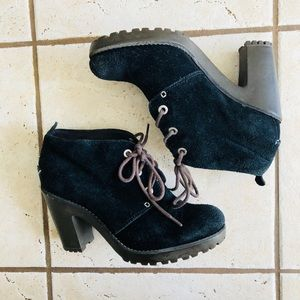 Sperry Heeled Ankle Boots